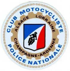 CLUB MOTOCYCLISTE DE LA POLICE NATIONALE ALSACE LORRAINE CHAMPAGNE ARDENNNE